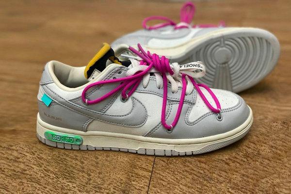 Off-White x Nike 全新联名 Dunk Low「THE 50」系列鞋款赏析