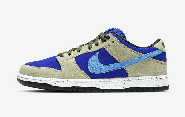 "Nike SB Dunk Low 鞋款全新""Celadon""配色释出,户外风设计"