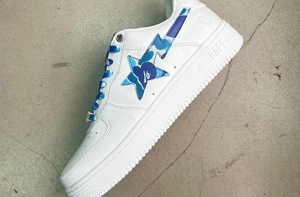 BAPE STA 全新迷彩鞋款系列强势回归,蓝绿红 3 色可选
