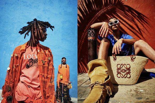 LOEWE 全新「Paula's Ibiza」胶囊系列 Lookbook 赏析