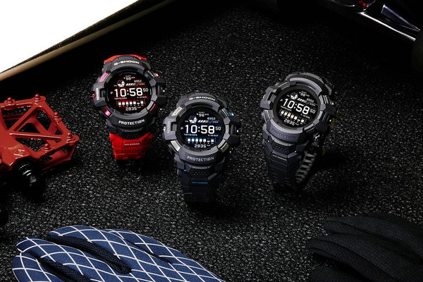 G-Shock 全新 GSW-H1000 系列表款公布,专为运动和健身而生