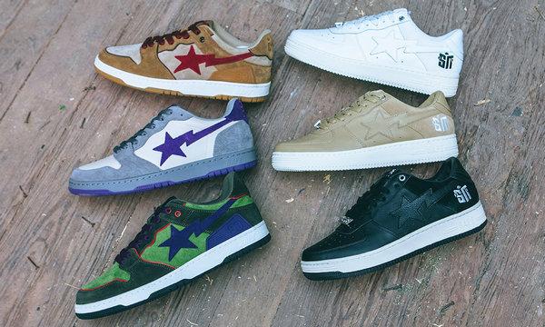 Bape x Sneaker News 全新联名别注系列鞋款登陆