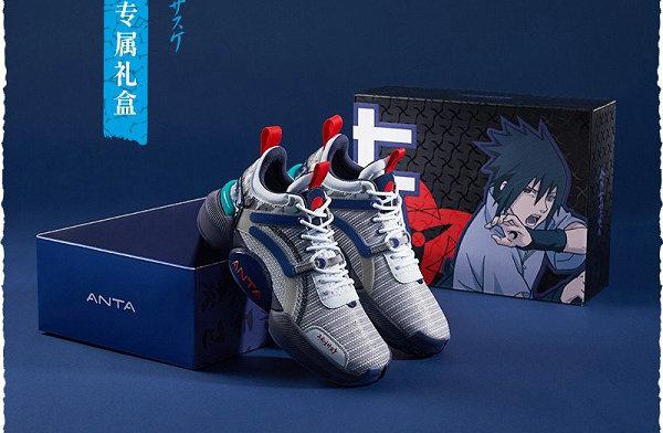 安踏 x《火影忍者》全新联名鞋款及服饰系列上架,爷青回!