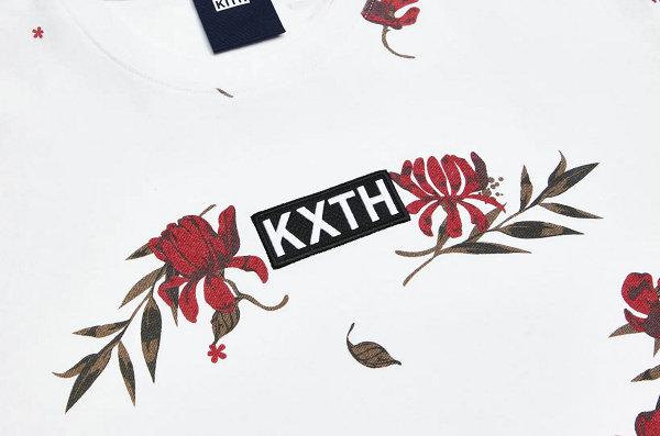 "KITH 10 周年纪念""Floral Print""系列出炉~"