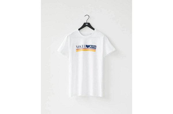 KITH x 《Vogue》全新联名 T-Shirt 亮相,随书附赠!