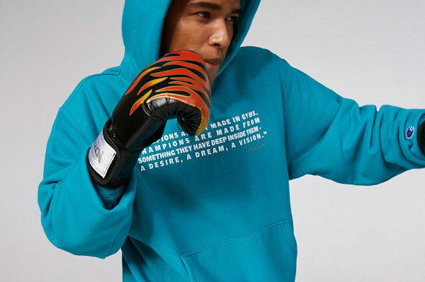 Champion 冠军 x 拳王阿里联名系列第二波单品开售