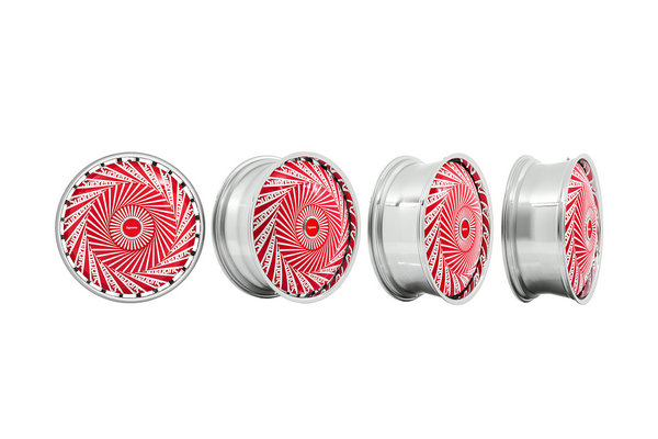 Supreme x DUB 联名 Spinner 轮毂套组上架